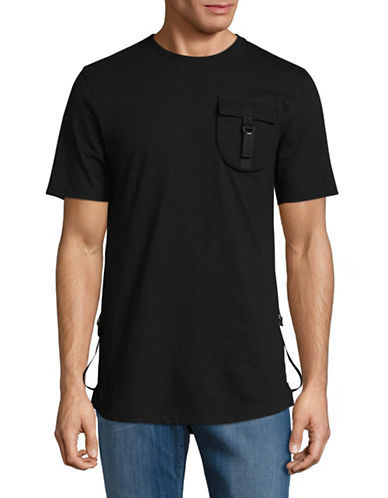 Highline Collective Buckle Long T-Shirt-BLACK-XX-Large