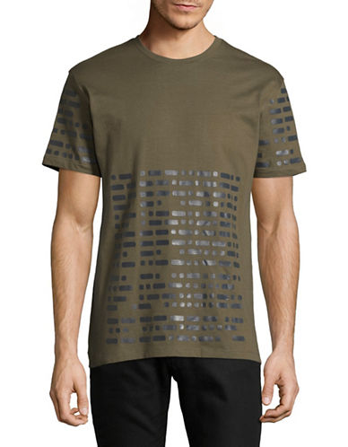 Highline Collective Graphic Essential T-Shirt-GREEN-Medium