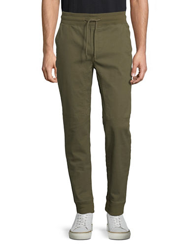 Highline Collective Stretch Jogger Pants-GREEN-X-Large