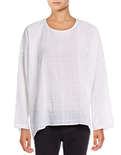 Vince Drapey Easy Top-WHITE-X-Small 88834074_WHITE_X-Small