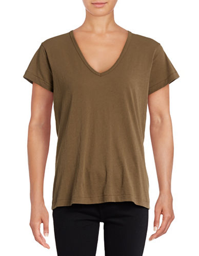 Vince Relaxed Tee-GREEN-X-Small 88871680_GREEN_X-Small