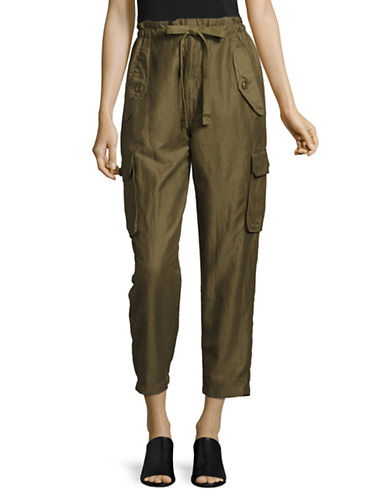 Vince Utility Pants-GREEN-Medium