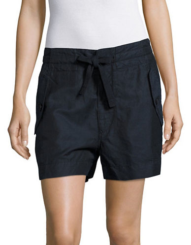 Vince Drawstring Utility Shorts-BLUE-Medium