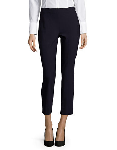 Vince Stitched Front Seam Leggings-BLUE-Small