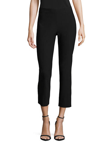 Vince Stitched Front Seam Leggings-BLACK-X-Small