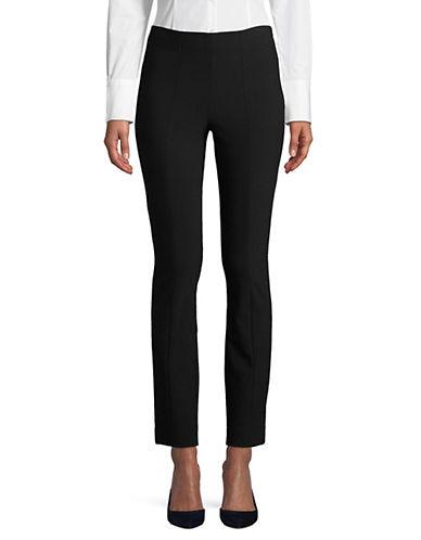 Vince Seamed High-Waist Pants-BLACK-Medium 89984388_BLACK_Medium