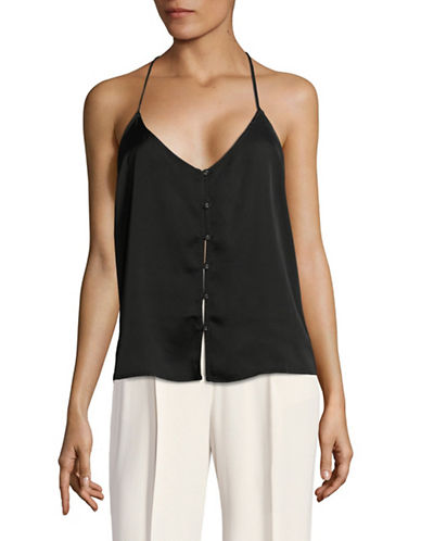 LAcademie T-Back Camisole-BLACK-X-Small
