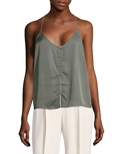 LAcademie T-Back Camisole-GREEN-Large