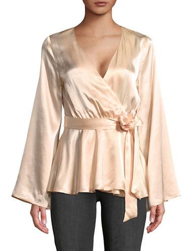 LAcademie Kimono Blouse-CHAMPAGNE-Small