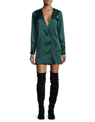 LAcademie Cadet Shift Dress-GREEN-X-Small
