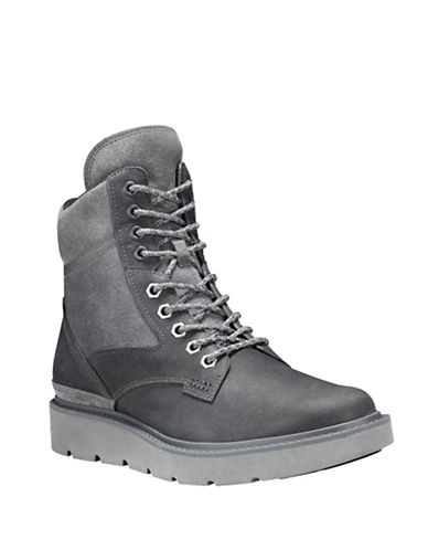 Timberland Kenniston Mid Hiker Boots-GREY-8.5