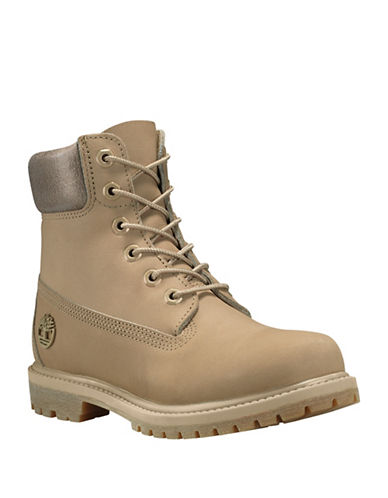 Timberland Icon 6 Premium Waterproof Leather Ankle Boots-BONE-6