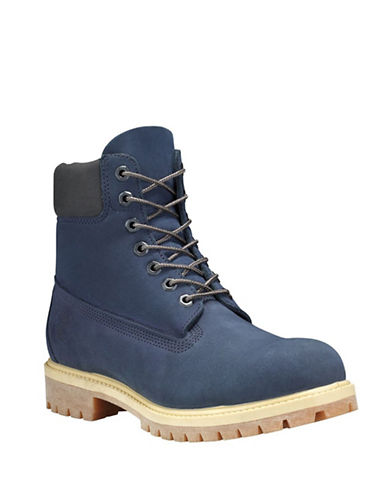 Timberland Icon 6-Inch Premium Ankle Boots-NAVY-8