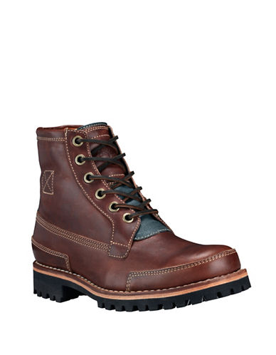 Timberland Leather Cold Weather Boots-BROWN-12