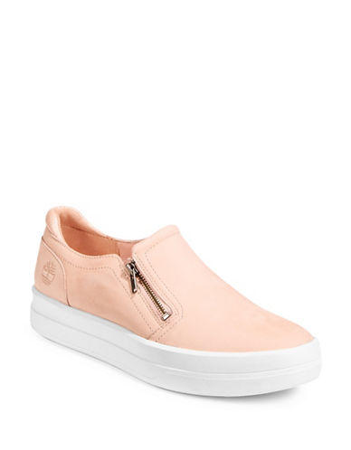 Timberland Mayliss Leather Sneakers-PINK-8.5