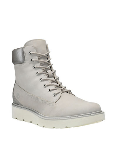 Timberland Kenniston Leather Sneaker Boots-GREY-6.5