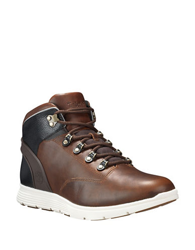 Timberland Killington Leather Hiker Sneakers-BROWN-9.5