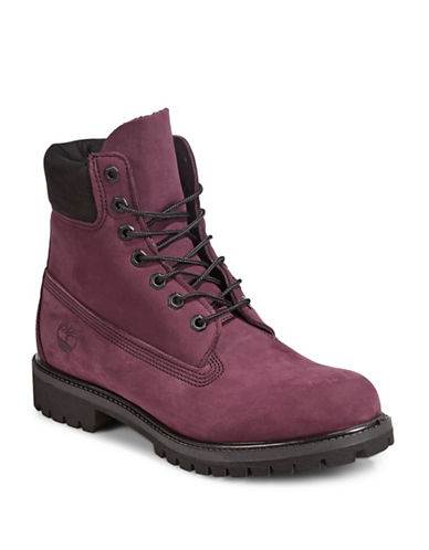 Timberland Premium Waterproof Boots-RED-10.5