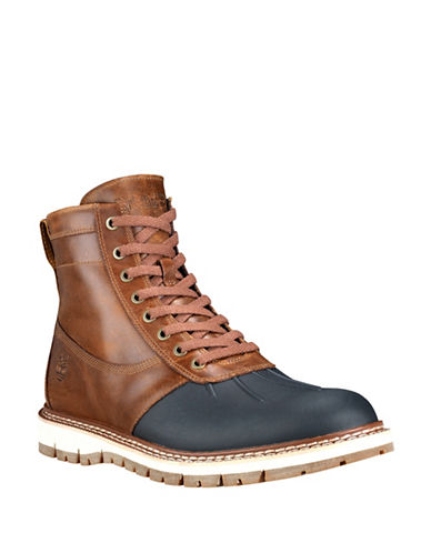 Timberland Britton Hill Work Boots-BROWN-11
