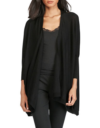 Polo Ralph Lauren Silk Blend Dolman Cardigan-BLACK-Large 89046709_BLACK_Large