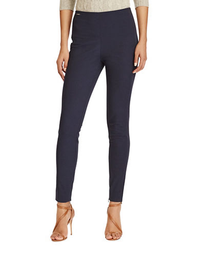 Polo Ralph Lauren Stretch Cotton Skinny Pants-BLUE-10 89046841_BLUE_10