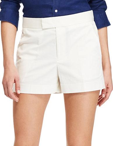 Polo Ralph Lauren Stretch Cotton Twill Shorts-DECKWASH WHITE-2