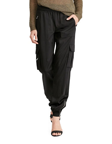 Polo Ralph Lauren Drapey Twill Cargo Pants-BLACK-X-Large 89101690_BLACK_X-Large