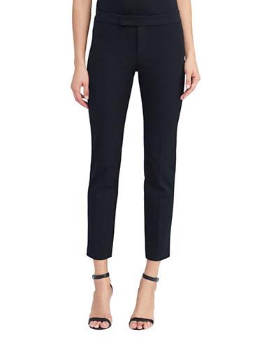 Lauren Ralph Lauren Stretch-Twill Skinny Pant-BLACK-6