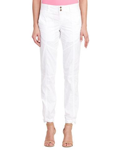 Lauren Ralph Lauren Faldrina Twill Pants-WHITE-10