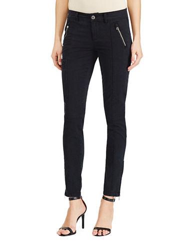 Lauren Ralph Lauren Skinny Twill Cargo Pants-BLACK-16 88933516_BLACK_16