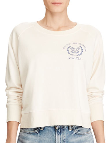 Denim & Supply Ralph Lauren French Terry Graphic Sweatshirt-GRAPHIC-Medium