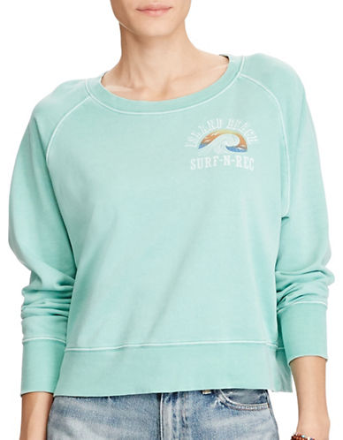 Denim & Supply Ralph Lauren French Terry Graphic Sweatshirt-GRAPHIC-X-Large
