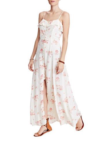 Denim & Supply Ralph Lauren Floral Cut-Out-Back Dress-JOSEPHINE FLORAL-Small