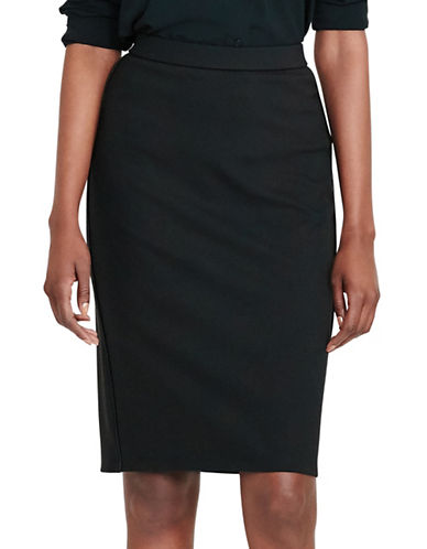 Lauren Ralph Lauren Ponte Pencil Skirt-BLACK-X-Small 88933276_BLACK_X-Small