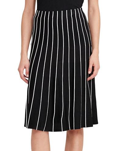 Lauren Ralph Lauren A-Line Sweater Skirt-BLACK-X-Small 88933289_BLACK_X-Small