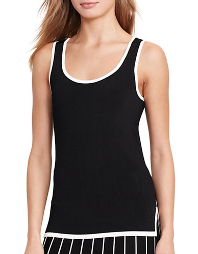 Lauren Ralph Lauren Sleeveless Sweater-BLACK-Medium 88933397_BLACK_Medium