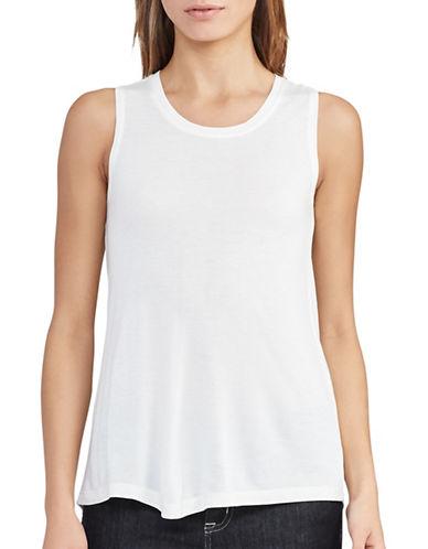 Lauren Ralph Lauren Shakki Knit Tank-WHITE-Medium 89133955_WHITE_Medium