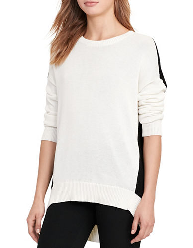Lauren Ralph Lauren Colourblocked Sweater-BLACK-X-Small 88933610_BLACK_X-Small