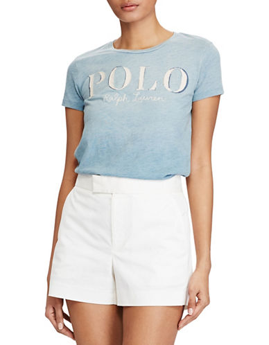 Polo Ralph Lauren Slim-Fit Cotton Tee-BLUE-Small 89210212_BLUE_Small