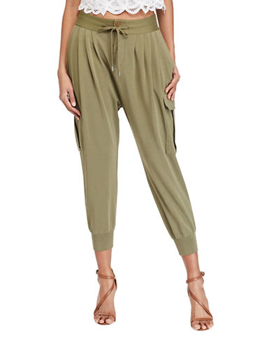 Polo Ralph Lauren French Terry Cargo Joggers-GREEN-Medium 89169801_GREEN_Medium