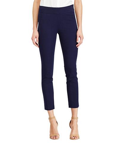 Lauren Ralph Lauren Cressida Stretch Twill Skinny Pants-BLUE-16