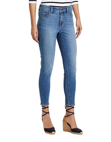 Lauren Ralph Lauren Premier Skinny Crop Jean-BLUE-14