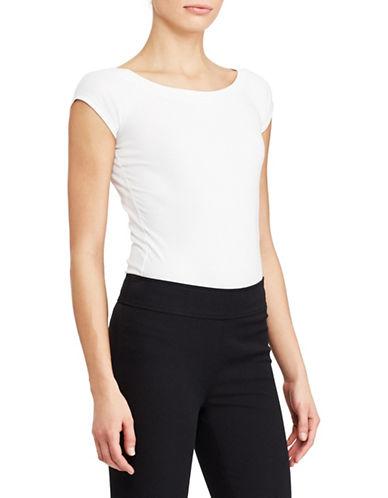 Lauren Ralph Lauren Raglan Knit Top-WHITE-Medium 89955799_WHITE_Medium