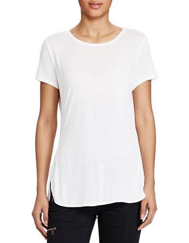 Lauren Ralph Lauren Jersey Tee-WHITE-Large 89208934_WHITE_Large