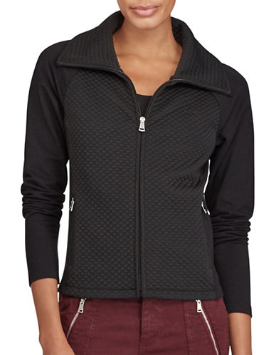 Lauren Ralph Lauren Zeyne Jacket-BLACK-Medium