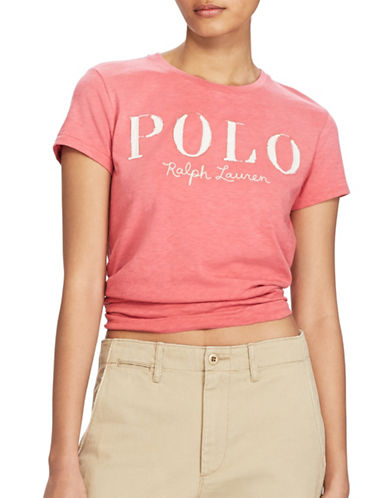 Polo Ralph Lauren Polo Jersey T-Shirt-RED-Large