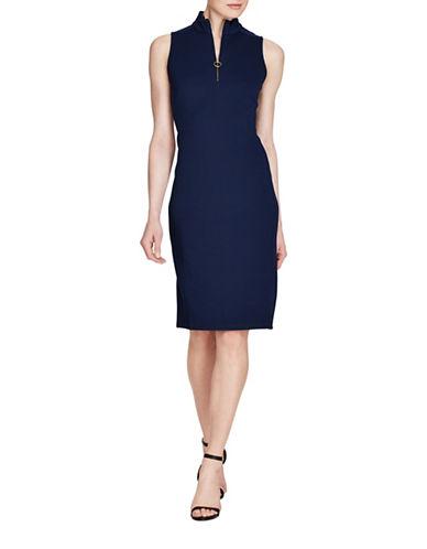 Lauren Ralph Lauren Piqué Sleeveless Dress-INDIGO-Medium 89254783_INDIGO_Medium