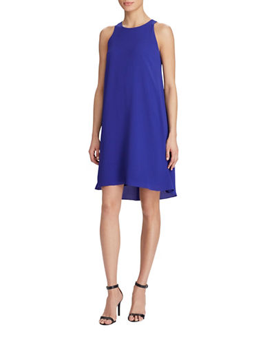 Lauren Ralph Lauren Stretch Crepe A-Line Dress-DAME-10