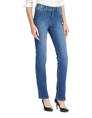 Lauren Ralph Lauren Premier Straight Jeans-BLUE-6