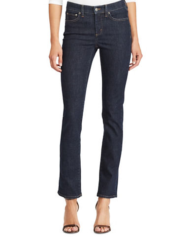 Lauren Ralph Lauren Ultimate Straight Jeans-BLUE-8